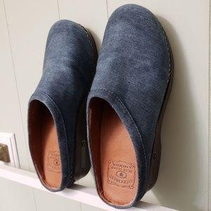Shoes - Lucky Brand Denim Clogs